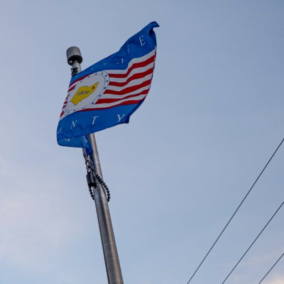 Image of the flag of Portage County, Ohio