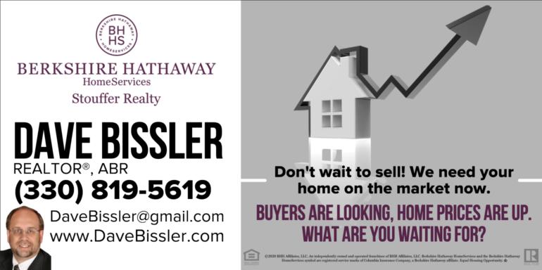 Dave Bissler Sponsor Ad