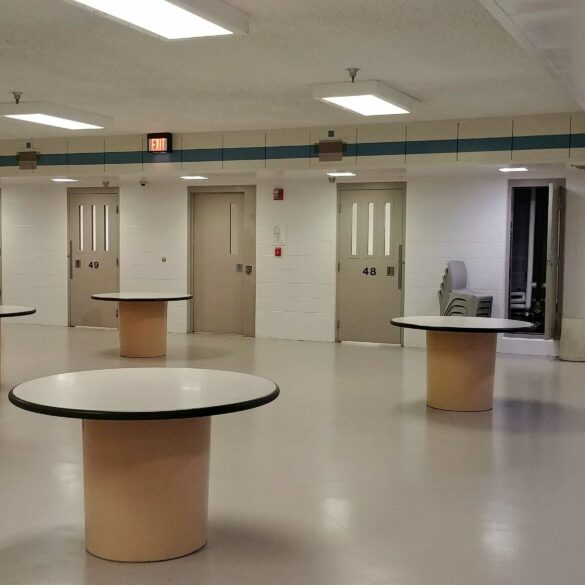 Image of the recent addition to the Portage County Jail
