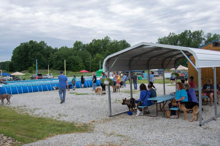Image of the Duke's dog training facility