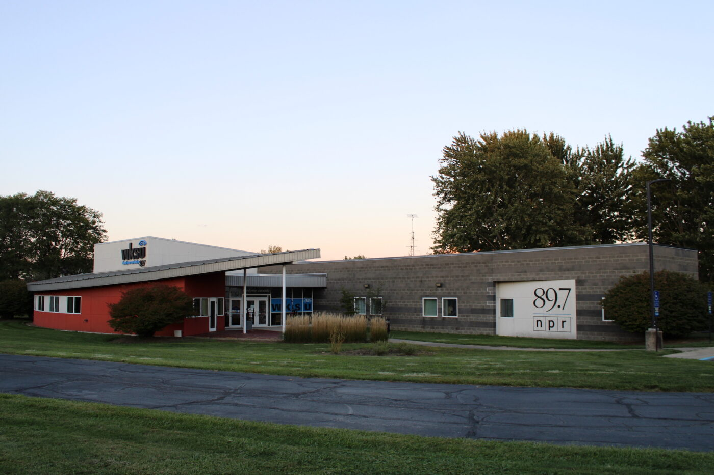 image of a radio station exterior